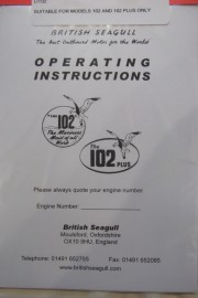 Owners Handbook For 102 Models